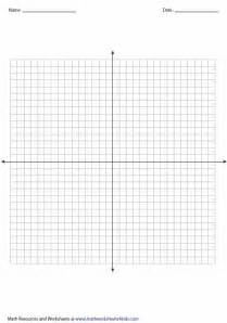 1st quadrant grid printable graph papers and grids
