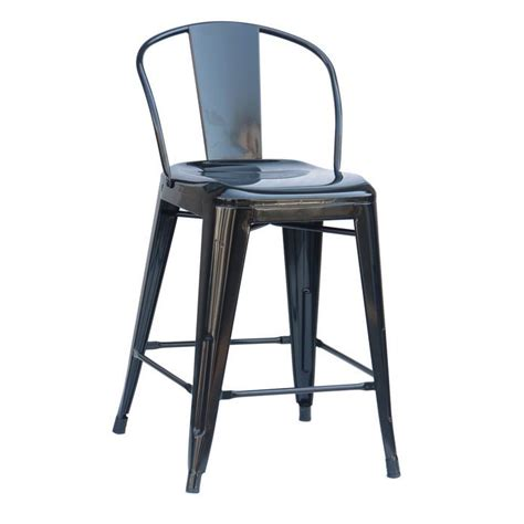 Counter Height Bar Stools Set Of 4 by Black Back Metal Counter Height Bar Stool Set Of 4