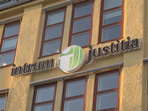Intrum Justitia Logo Stockholm