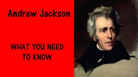 President ANDREW JACKSON - What You Need to Know - Facts ...