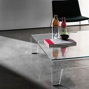 Table Basse Design Verre : table basse design rectangulaire en verre frog sovet 4 ~ Teatrodelosmanantiales.com Idées de Décoration