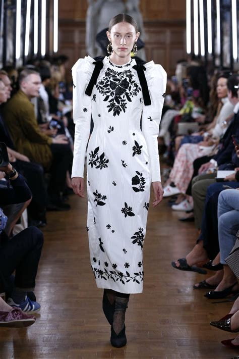 london fashion week erdem spring  collection tom