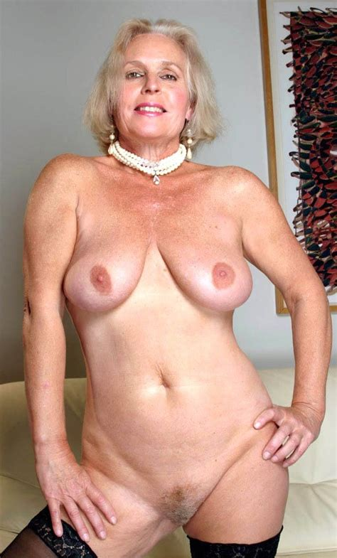 classy grey haired granny bobs and vagene