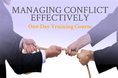 managing conflict effectively north western lancashire