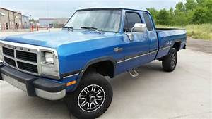 1993 Dodge Ram First Gen W250 5 9 Cummins Turbo Diesel 4x4