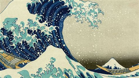 ab wallpaper great wave  kanagawa wallpaper