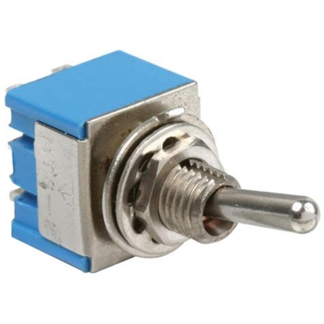 switch miniatura de palanca  polo  tiros  posiciones de    amperes