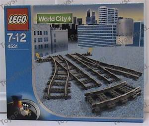 Lego 4531 Manual Switching Tracks  Turnouts Set Parts