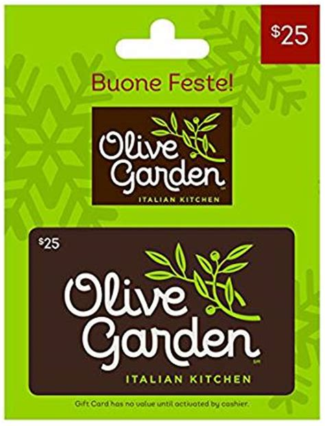 olive garden gift cards olive garden 25 gift card gift cards