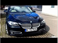 2014 BMW 525d F10 Facelift Test Drive YouTube