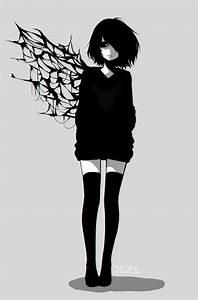 Emo Anime Girl With Headphones Drawings Best 25+ Emo Anime ...