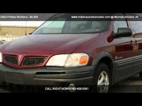 how to fix cars 2002 pontiac montana navigation system 2002 pontiac montana problems online manuals and repair information