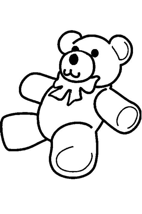 Kleurplaat Teddybeer by Kleurplaten Beren