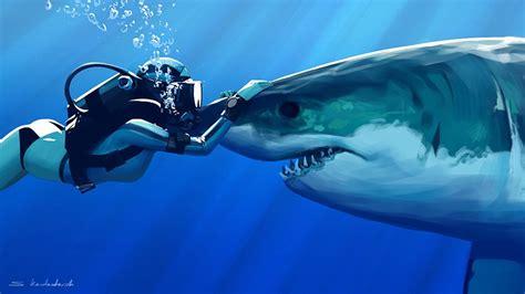 Tiburón Full HD Fondo de Pantalla and Fondo de Escritorio