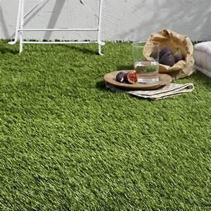 Gazon Artificiel Balcon : gazon artificiel iris au rouleau 1 x 4 m leroy merlin ~ Edinachiropracticcenter.com Idées de Décoration