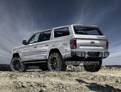 door  ford bronco concept isnt real  awesome