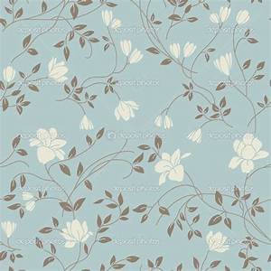 Vintage Flower Pattern Wallpaper | WallMaya.com