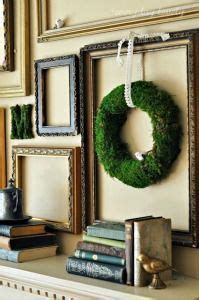 Using empty picture frames to create a gallery style wall will create interest where there is none in your home in achic on a shoestring way. Empty Frames - DIY Wall Art by Laura Z on Pinterest | Empty Frames, Empty Picture Frames and ...