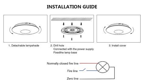 Emergency Lighting Led Ceiling Light Fixture