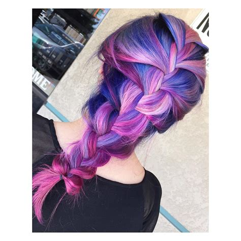 Blue Purple To Hot Pink Ombre Hair Colors Ideas