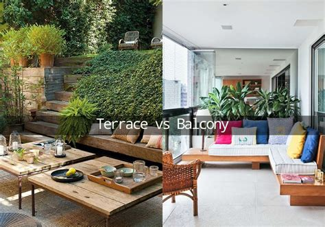 Balkon Terrasse Unterschied difference between a terrace and a balcony types of patio