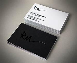 Black and white business cards wwwimgkidcom the for White business cards