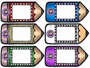 Formatos Para Gafetes  Gafetes Para Ni U00f1os De Primero De Primaria Material Educativo  Formatos De