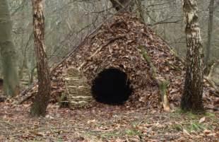 Winter Wilderness Survival Shelters