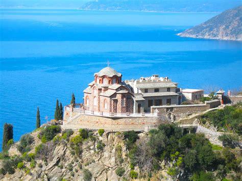 Sfântul Munte Athos - Ajutor pentru Schitul Lacu, Chilia Intrarea Maicii Domnului in Biserica