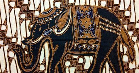 kumpulan foto corak motif batik hewan sederhana
