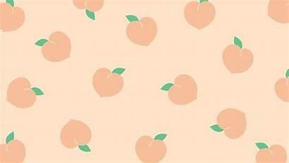Aesthetic Laptop Macbook Wallpapers Desktop Peach Backgrounds