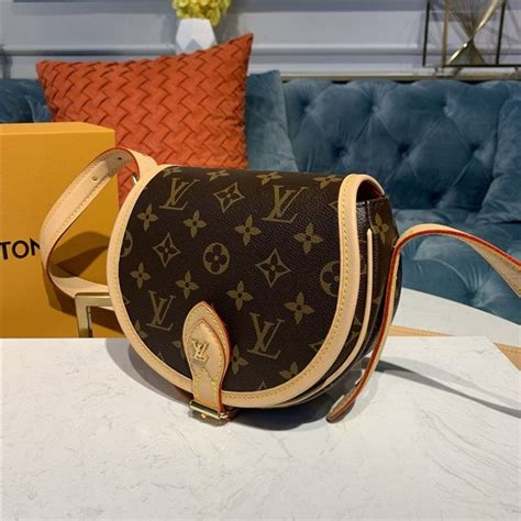 louis vuitton tambourin monogram small  lightweight cross shoulder bag aaa handbag