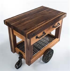 butcher block kitchen island cart butcher s block cart eclectic kitchen islands and