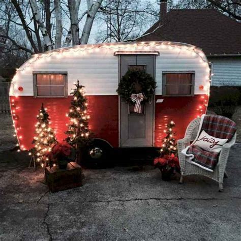 awesome rv campers christmas decorations ideas