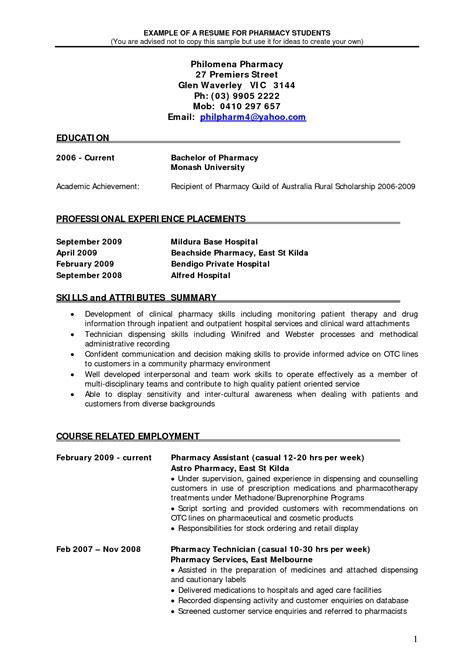 pharmacist resume good resume examples sample resume