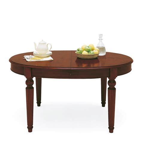 oval dining table with extension classic oval extendable dining table 7249
