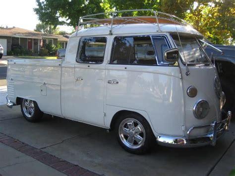 Vw 4 Door Truck by 1965 Vw Cab Transporter Vintage Volkswagen Vw
