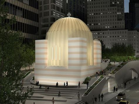 calatravas greek orthodox church  world trade center