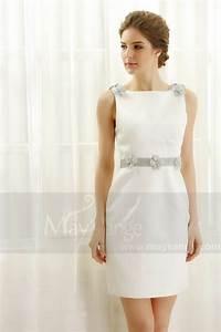 robe de soiree blanc courte pour mariage c817 With robe pour mariage cette combinaison bague mariage homme