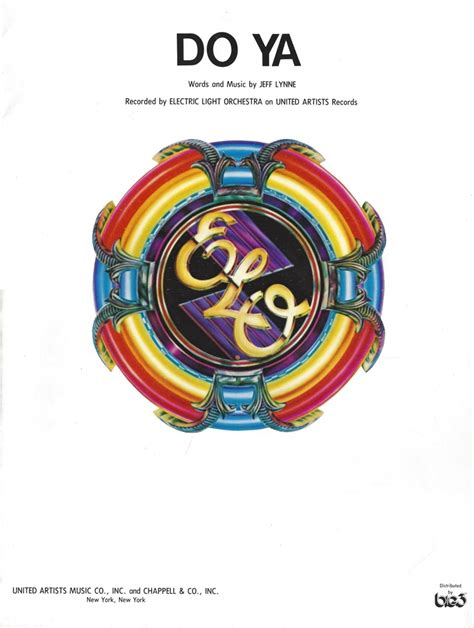 Electric Light Orchestra Do Ya jeff lynne song database the move and electric light