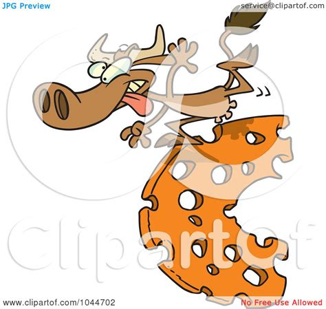Royalty Free Rf Clip Art Illustration Of A Cartoon Cow