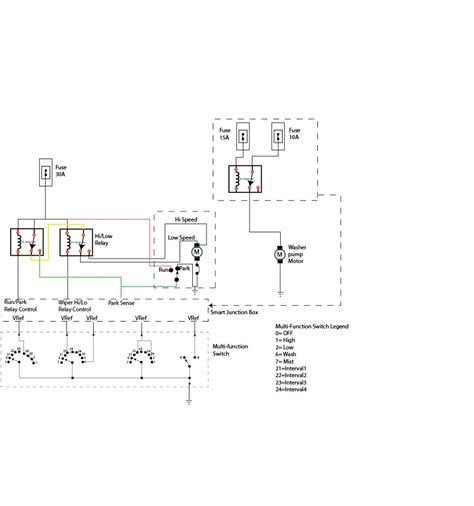 ford wipers wiring diagram ricks  auto repair advice