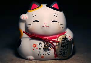 japanese lucky cat the history of japanese lucky cats