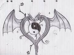 Dragon Heart by Aylagigacz on DeviantArt  Dragons And Hearts Drawings