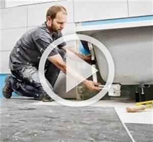 Badewanne Einbauen Anleitung : badewanne einbauen mit wannentr ger anleitung der hornbach meisterschmiede ~ Markanthonyermac.com Haus und Dekorationen