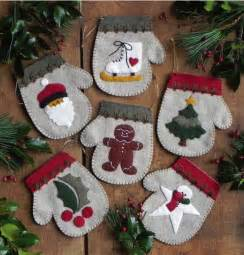 weekend kits blog felt christmas ornament kits diy tree trimming