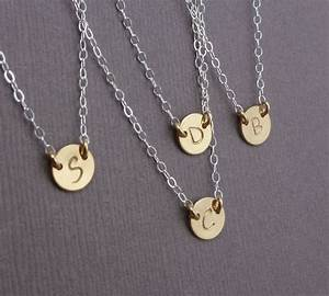 petite initial necklace gosia meyer jewelry With petite letter necklace
