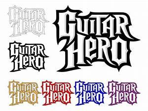Guitar Hero Logo Set Vector Art & Graphics | freevector.com