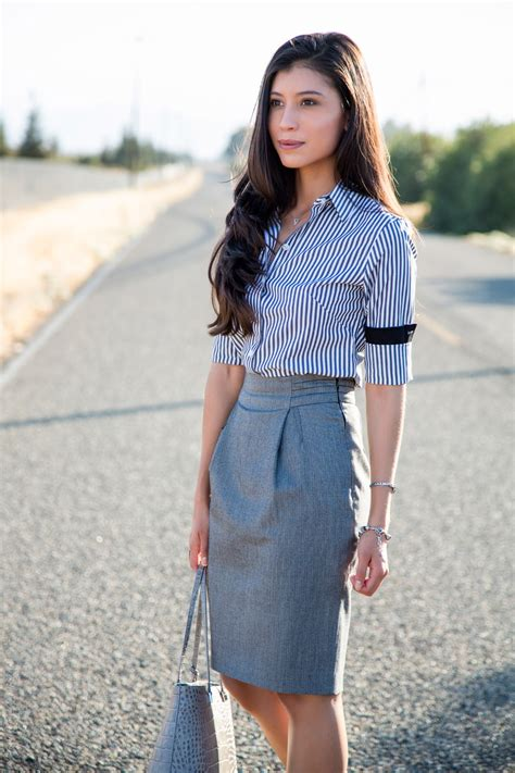 What to Wear With a Pencil Skirt - Style Tips u0026 Outfit Ideas