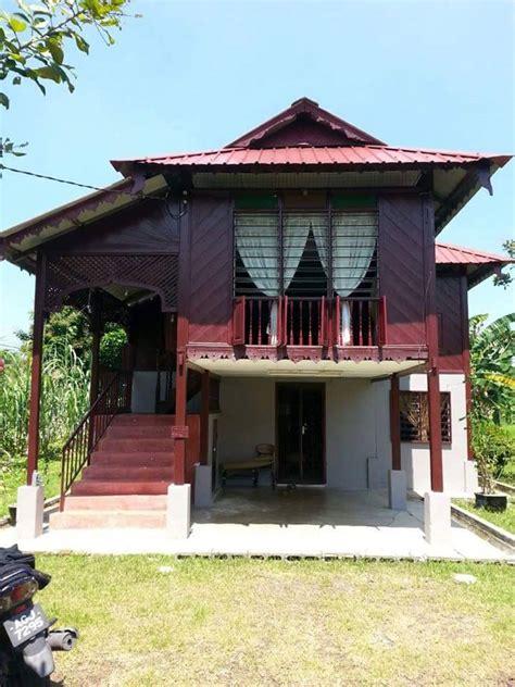 rumah kayu cantik  malaysia desainrumahidcom